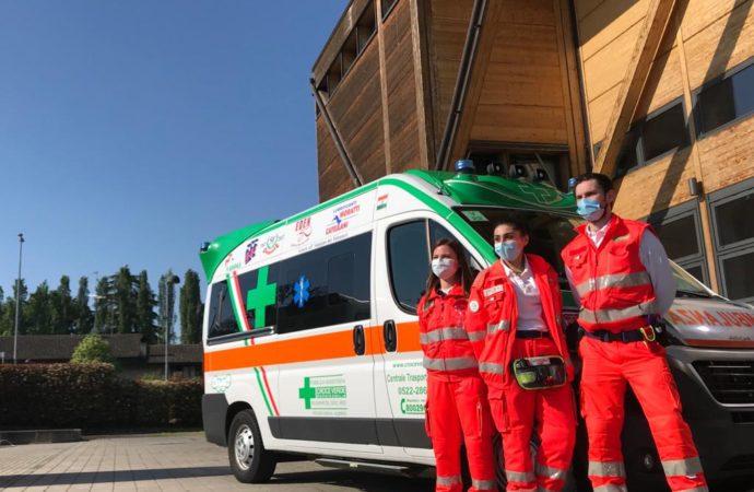 Reggiana sostiene Banco BPM nella raccolta fondi per la Croce Verde di Reggio Emilia