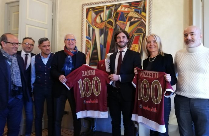 Presentazione iniziativa benefica di Reggiana, Provincia di Reggio Emilia e Croce Verde