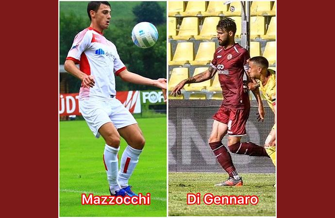 Presi Di Gennaro e Mazzocchi, ora le cessioni. A fine mercato si cercherà un centravanti.