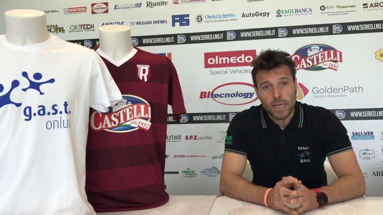 La Reggiana continua a sostenere l'attività di G.a.s.t. Onlus