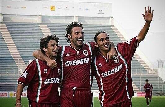 Alberto Bertolini con Omar Campana e Massimo Minetti