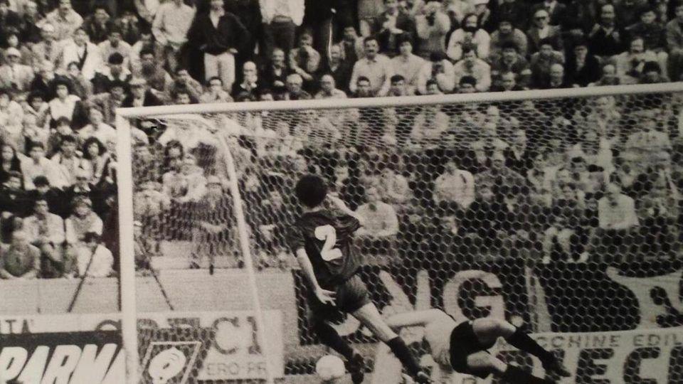 4 Maggio 1986: la Reggiana batte il Parma al Tardini con gol di Saverio Albi