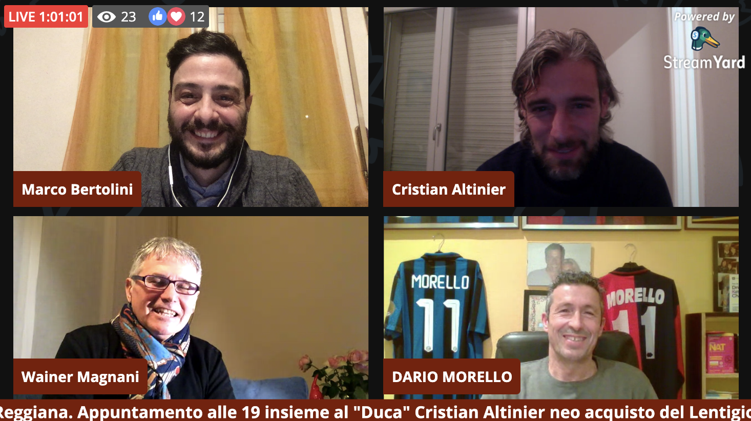 Il Bar della Gazzetta: nona puntata con Cristian Altinier