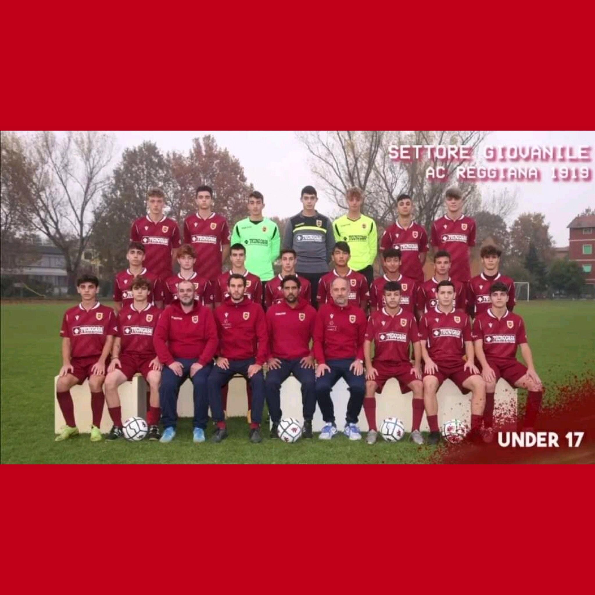 La Reggiana Under 17 in campo dall'11 aprile