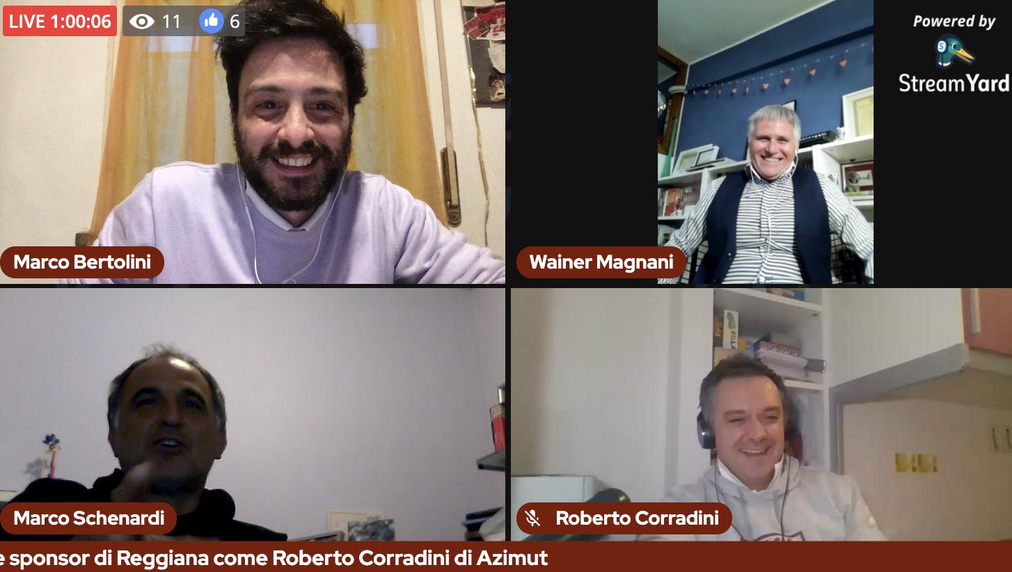 Il Bar della Gazzetta: 17^ puntata con Marco Schenardi e Roberto Corradini