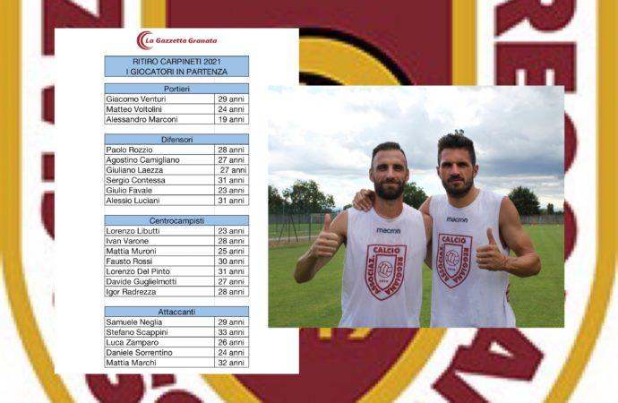 Ecco chi sono i nuovi giocatori della Reggiana